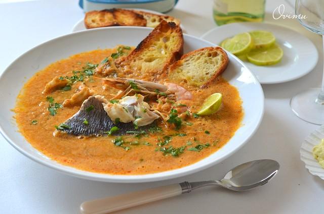 Марсельский рыбный суп