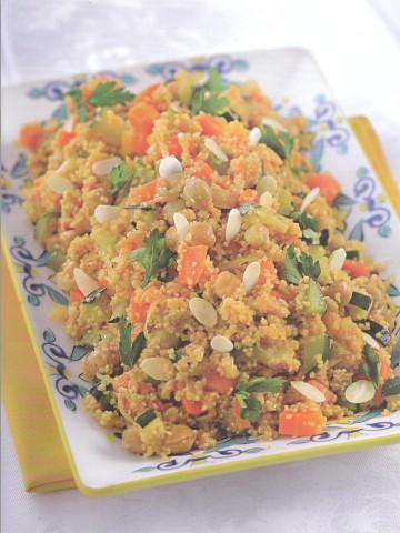 Марокканское овощное рагу