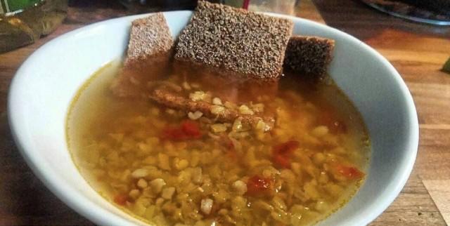 Суп булгур