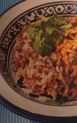 Бурый рис с курицей