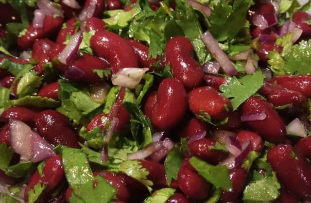 Фасолевый салат ПП