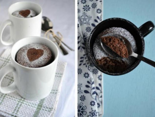 Легкий шоколадный кекс