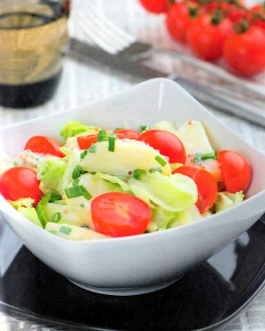 Салат «Европа» (картофель с помидорами черри)