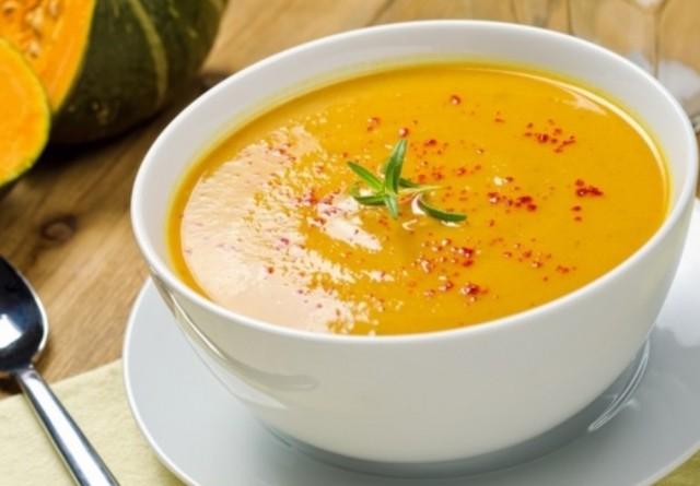 Тыквенный суп с карри