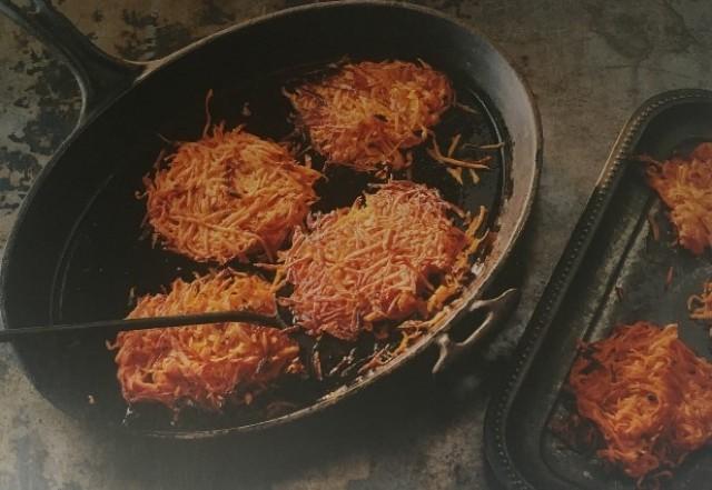 Оладьи из сладкого картофеля