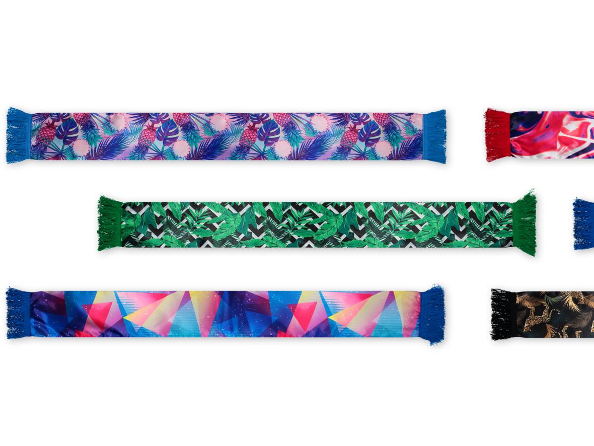Vous voulez commander ces Fans foulards uniques ?