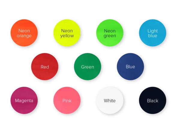 Colour of vest