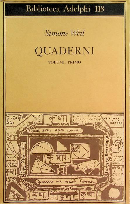 Quaderni: primo volume.