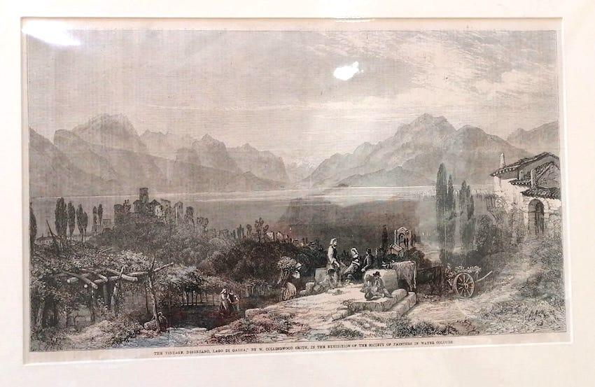 The vintage, Desenzano, Lago di Garda.