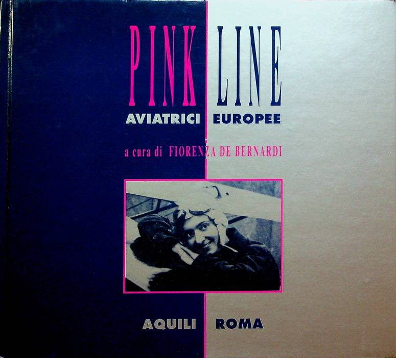 Pink line: aviatrici europee.