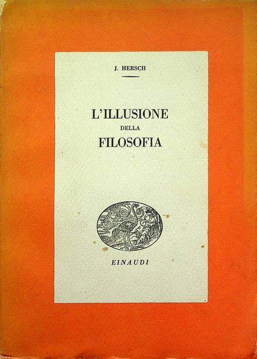 L'illusione della filosofia.