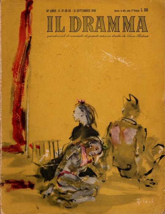 Il Dramma. 24° anno. N. 67-68-69.