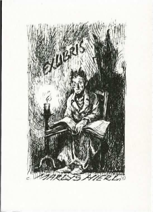 Ex libris Marlys Hierl.
