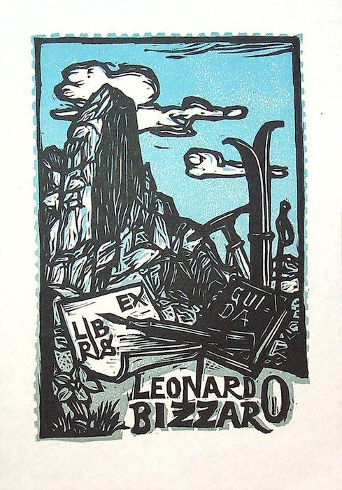 Ex libris Leonardo Bizzaro.