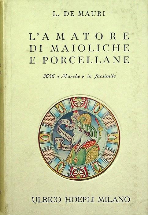 L'amatore di maioliche e porcellane.
