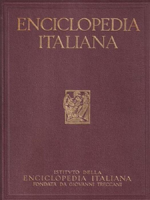 Enciclopedia italiana di scienze, lettere ed arti.