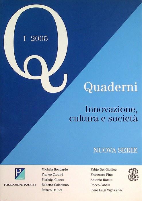 Innovazione, cultura e societa.