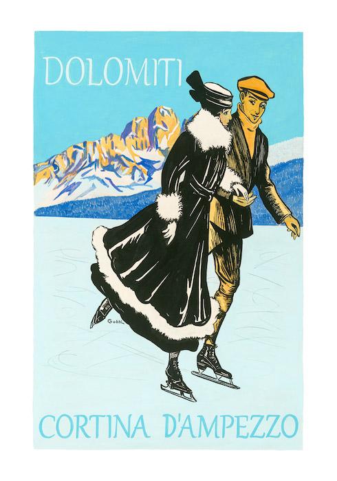 Dolomiti Cortina d'Ampezzo.