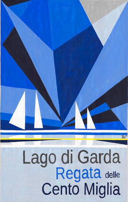 Lago di Garda - Regata delle Cento Miglia.