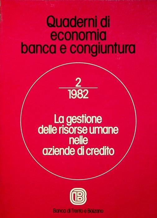 La gestione delle risorse umane nelle aziende di credito.
