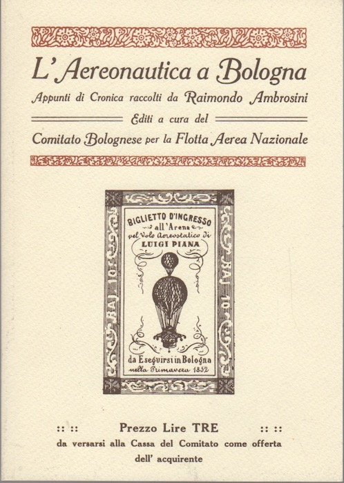 L'aereonautica a Bologna: appunti di cronica.