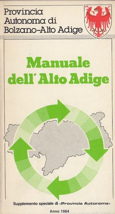 Manuale dell'Alto Adige.