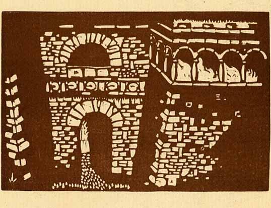 La porta etrusca (Perugia).