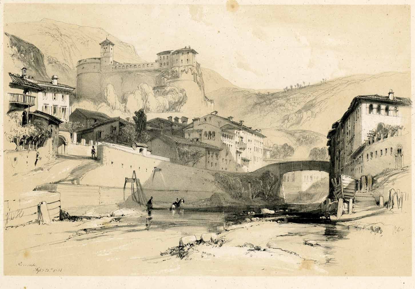 Rovereto, Sep. 21 1834  JDH.