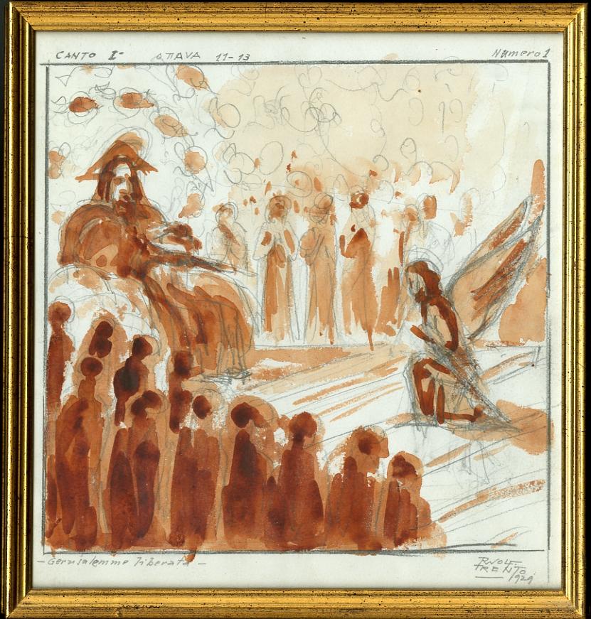 La Gerusalemme liberata, canto I, ottave 11-13, numero 1.