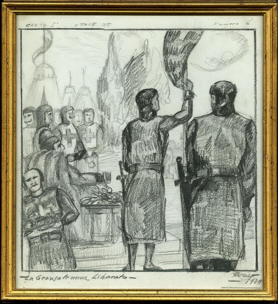 La Gerusalemme liberata, canto I, ottave 35, numero 6.