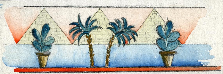 Le tre piramidi.