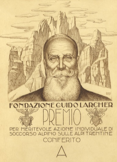 """Diploma """"Fondazione Guido Larcher""""."""