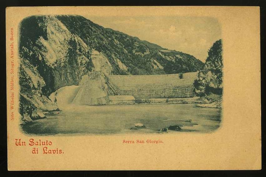 Un Saluto da Lavis. Serra San Giorgio.