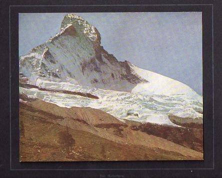 Cervino - Das Matterhorn.