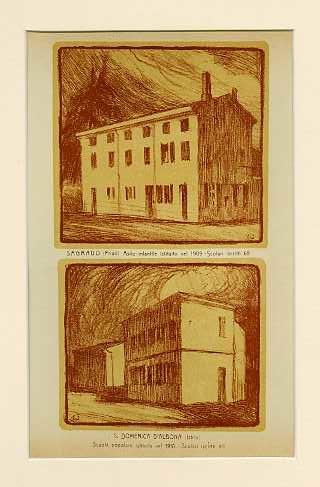 Sagrado (Friuli) Asilo infantile istituito nel 1909. Scolari iscritti 65; S. Domenica d'Albona (Istria) Scuola popolare istituita nel 1910. Scolari iscritti 90.