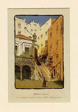 Sebenico (Dalmazia) Scuola popolare femminile istituita nel 1909. Scolare iscritte 49.