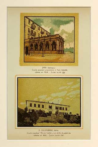 Cucciani (Istria) Scuola popolare istituita nel 1907. Scolari iscritti 40; Pisino (Istria) Asilo infantile Dr. A. A. Cofler istituito nel 1905. Scolari iscritti 180.