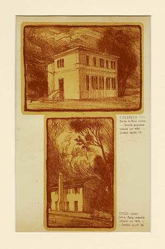 Collalto - Berda di Buie (Istria) Scuola popolare istituita nel 1910. Scolari iscritti 74; Chiusi - Lussin (Istria) Asilo infantile istituito nel 1910. Scolari  iscritti 36.