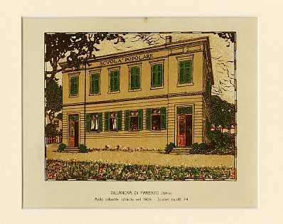 Villanova di Parenzo (Istria) Asilo infantile istituito nel 1909. Scolari iscritti 74.