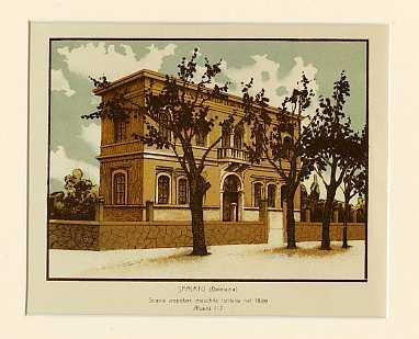 Spalato (Dalmazia) Scuola popolare maschile istituita nel 1899. Alunni 117.