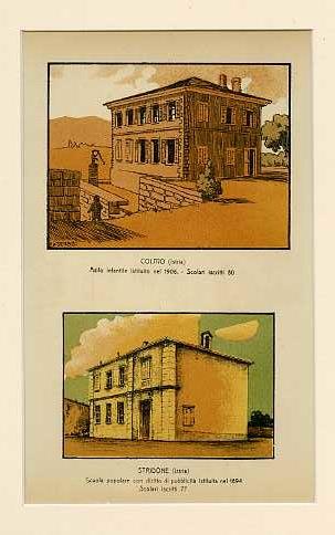 Colmo (Istria) Asilo infantile istituito nel 1906. Scolari iscritti 80; Stridone (Istria) Scuola popolare con diritto di pubblicità istituita nel 1894. Scolari iscritti 77.