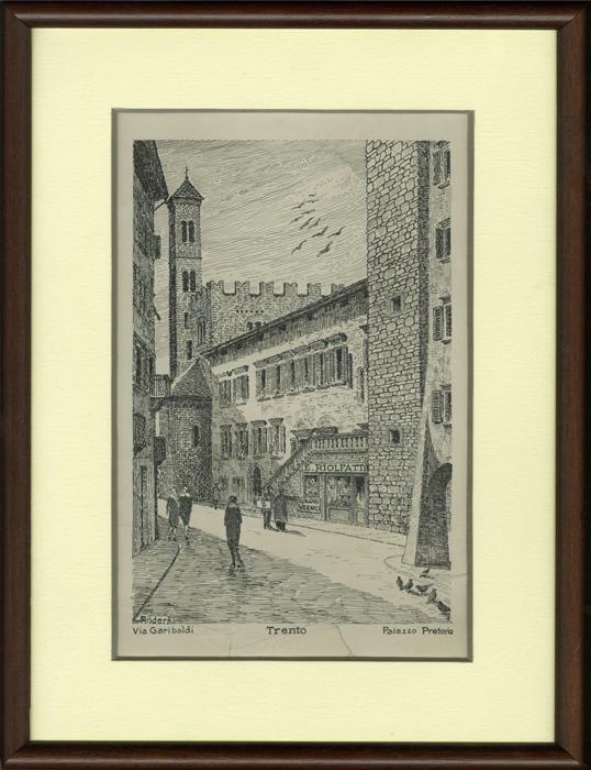 Trento - Via Garibaldi - Palazzo Pretorio.
