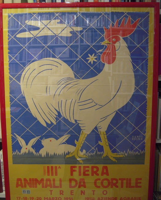 III° Fiera animali da cortile, Trento, 17-18-19-20 marzo 1951, presso: Aziende Agrarie.