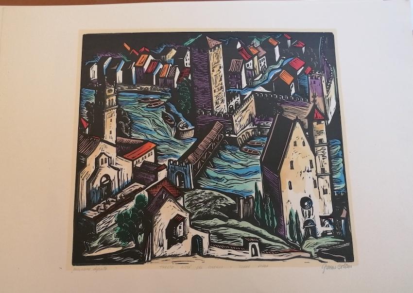Trento città del concilio: Torre Vanga.