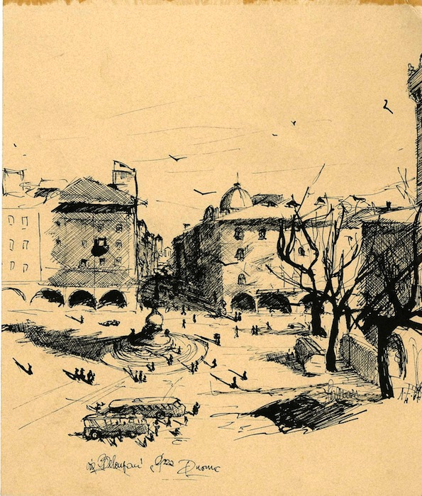 Trento. Piazza Duomo.