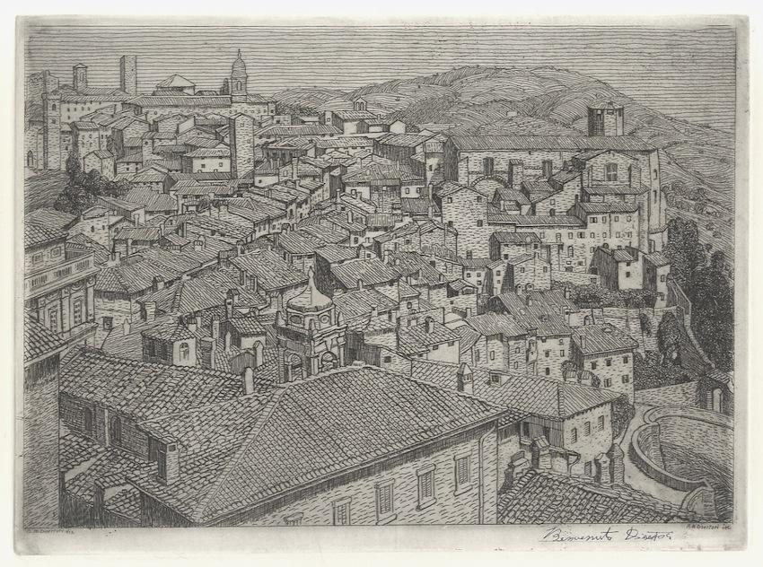 Borgo S. Angelo a Perugia (1912-1913).