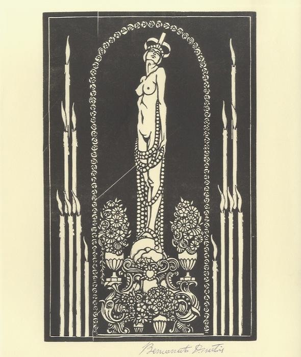 La nicchia. (c. 1913).