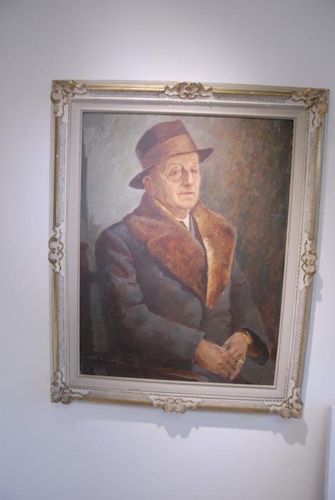 Ritratto di Umberto Albertani.