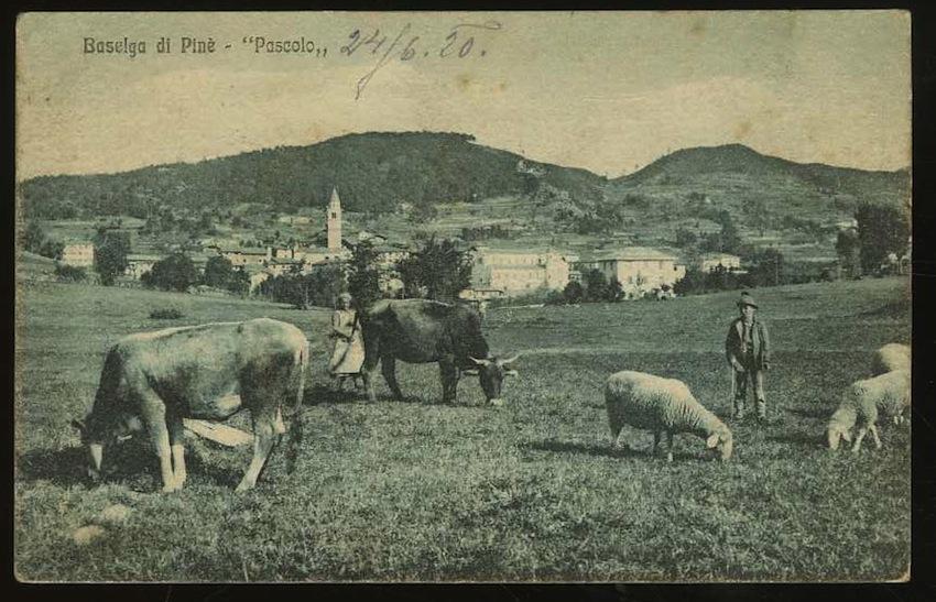 """Baselga di Pinè - """"Pascolo""""."""