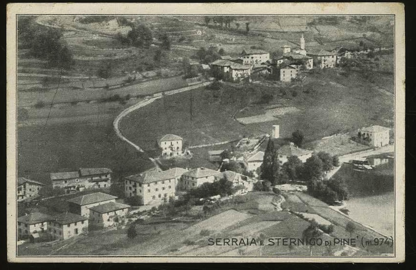 Serraia e Sternigo di Pinè (m. 974).